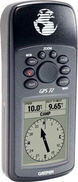 Garmin GPS 72H Marine Handheld